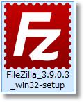 FileZillaダウンロード